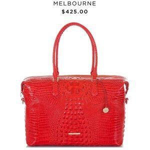 Brahmin DuxburyCarryall Scarlett Melbourne Leather